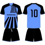 Jogo 16 Camisas 16 Calções Personalizado Futebol Dry Sport