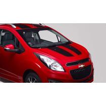 Franjas Deportivas De Vinyl Para Chevrolet Spark