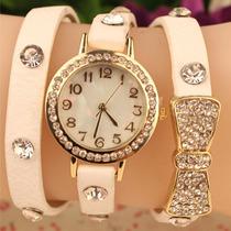 Relógio Feminino De Luxo De Marca Importada Frete Grátis 12x