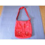Bolso Cruzado Totto Color Rojo
