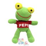 Sapo Pepe Peluche Gran Tamaño 42 Cm Idem Tv Miralo, Local !