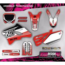 Kit Calcos Gráfica Keller Mx 260 Gruesos!!! Competicion
