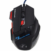 Mouse Laser Gamer Usb Pc Note Alta Precisão - Cs Dota Lol