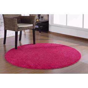 Tapete Redondo Coleção Classic Teen 1,00 X 1,00 - Pink Rosa
