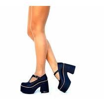 Zapatos Guillerminas De Mujer 2017 Plataforma De Goma