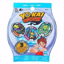 Set Yo-kai Watch Reloj 3 Medallas Serie 1 Hasbro