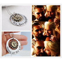 Colgante My Sun And Star Game Of Thrones Targaryen Khal