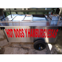 Carros Hotdogs Carro Acero Inoxidable Carreta Hot Dog Hotdog