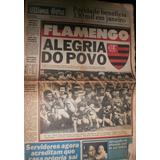 Jornal Ultima Hora 05-nov-1979 Flamengo Alegria Do Povo