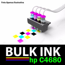 Sistema Tanque D Tinta P/ Impressora Multifuncional Hp C4680