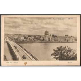 Pernambuco - Recife - Cartão Postal Antigo Original