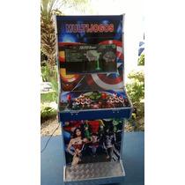 Máquina Multijogos Avançada Arcade Led 22 Sob Encomenda