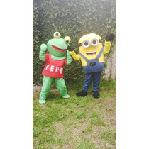 Disfraz De Minions, Sapo Pepe, Minnie Y Mickey, Hombre Arana