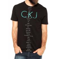 Kit Com 10 Camisetas Calvin Klein Atacado