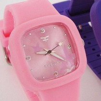 Reloj Kosiuko Watch 7496 Silicona Colores Niño Junior