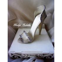 Adorno Zapato Mujer ( Porcelana Fria )