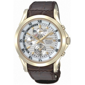 Reloj Seiko Premier Kinetic 42mm Calendario Perpetuo ,zafiro