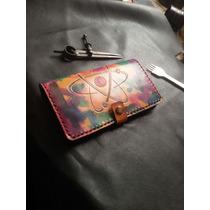 Billetera Mujer De Cuero Artesanal (personalizadas)