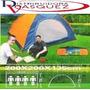Carpa De Camping Para 4 Personas Impermiable Aventura