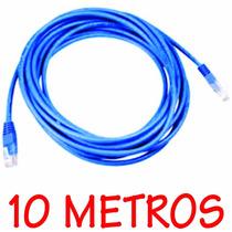 Cabo De Rede Crimpado Clipado 10 Metros Internet
