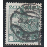 Austria 1934 / 35 Antiguo Sello Yvert N° 458 A Usado