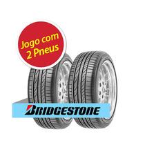Kit 2 Pneu Aro 17 Bridgestone 245/40r17 Potenza Re050a 91w