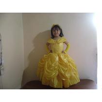 Vestidos Princesas De Disney Bella Cenicienta Blanca Nieves