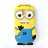 Funda Samsung Galaxy S5 Protector 3d Goma Silicon Minion Cel