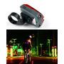 Luz De Bike Ciclofaixa Com Laizer Bicicleta Esporte