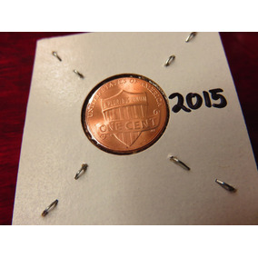 Bb#2 Moneda Shield Escudo Lincoln Cent Usa 2015 Nueva