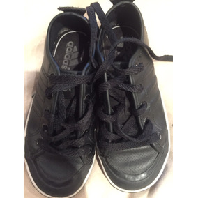 Zapatillas De Cuero Negro adidas 13.5 Usa Niños