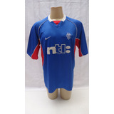 Camisa De Futebol Do Glasgow Rangers 1999 2001 Ntl Nike 2000