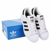 Tenis Adidas Superstar Metalizados Hombre Originales C/caja