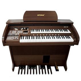 Órgão Eletrônico Tokai - Md750 Preto Alto Brilho