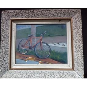Quadro Blanco Y Couto - Bicicleta, Ost - 14 X 18 Cm
