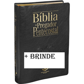 Bíblia Do Pregador Pentecostal De Estudo+teologia Basica