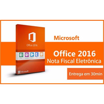Key Licença Office 2016 Pro Plus + Nota Fiscal + Garantia