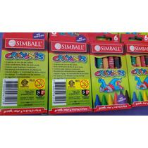 Crayones Simball X 10 Souvenirs Magicmasa