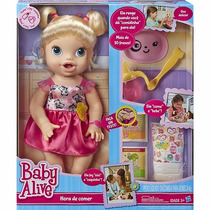 Baby Alive Hora De Comer - Loira - Hasbro
