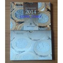 Set 8 Monedas Cuño 2014 Banxico Nuevo Lanzamiento 2016