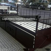 Cama de hierro 1 plaza camas de 1 plaza en capital for Sillon cama 2 plazas capital federal