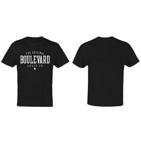 c2bd4bb784 Camiseta Boulevard Skateboards Model Varsity Importada