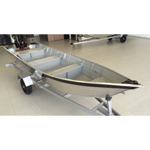 Barco De Alumínio Pety 500s Novo
