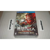 Shingeki No Kyojin Attack On Titan Treasure Box Ps4