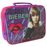 Lonchera Justin Bieber Importada Insulada