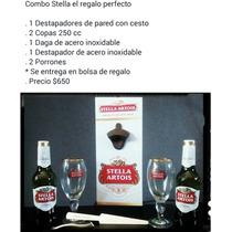 Destapador De Pared Con Cesto Cerveza Quilmes