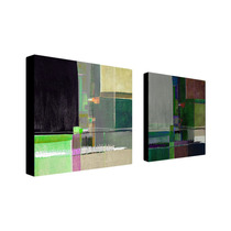 Abstract Ii Multi-panel Canvas Art Set By Miguel Paredes