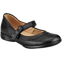 Zapatos Yondeer 1005-1 Negro Piel Niña Pv