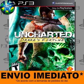 Ps3 Uncharted Drakes Fortune Código Psn Envio Promoção