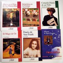 6 Cuentos Infantiles Paquete Principito,mago Oz Alicia Pais*